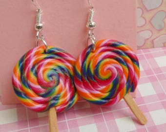 Party Lollipop Earrings