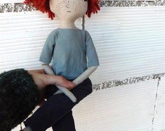 Rag doll man or woman LIKE YOU. 40 cm.