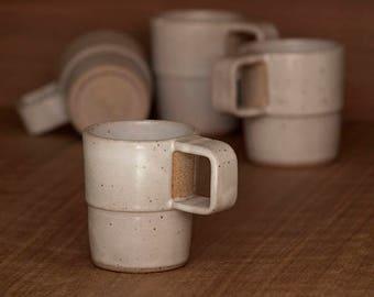Coffee mug, set of 4.   8 fl. oz. each