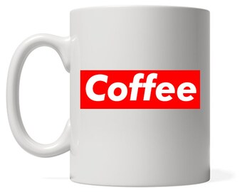 Supreme Coffee Parody Mug - Fashion