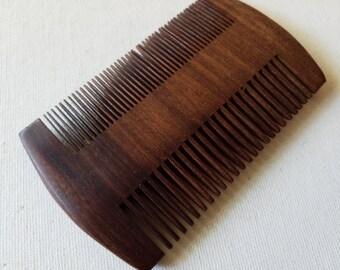 Wooden comb, clean
