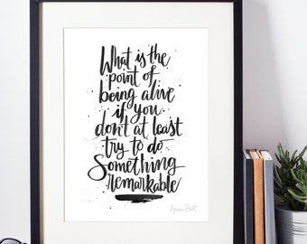 Remarkable - An Abundance of Katherines Quote