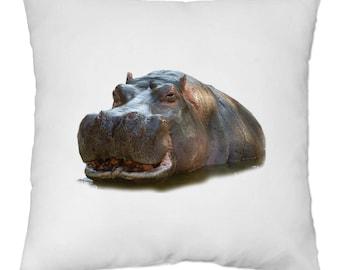 Cover cushion 40 x 40 cm - Hippo - Yonacrea
