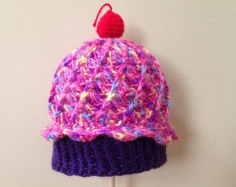 Slouchy Cupcake Hat