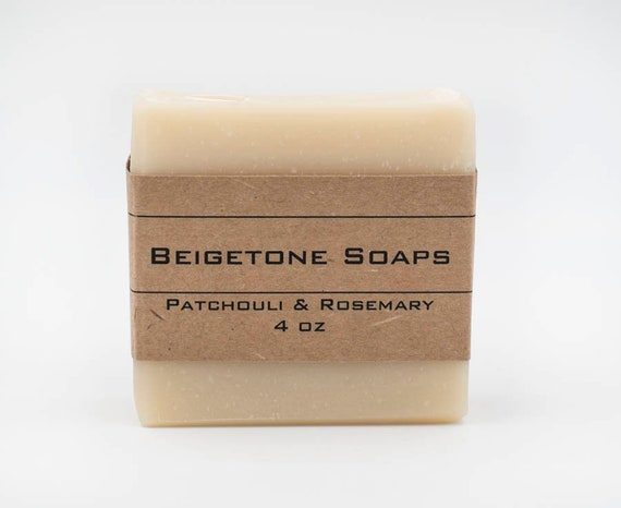 Patchouli and Rosemary | 4oz | Insect Repelling Essential Oil Bar