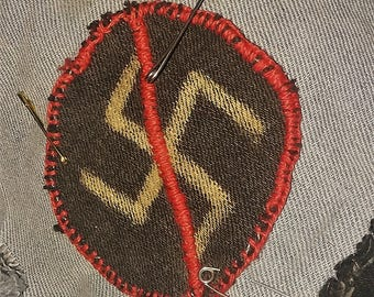 Antifascist Denim Patch