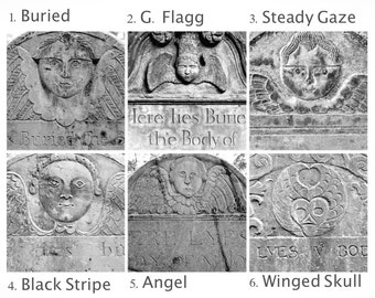 Winged Angels Wall Grouping, Cemetery Art Set of Four Prints, Gallery Wall Set of Three Prints, Wall Art Set of 4, Oddity Set of 3 Angel Art