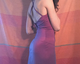 Pink Backless Space Girl Gown
