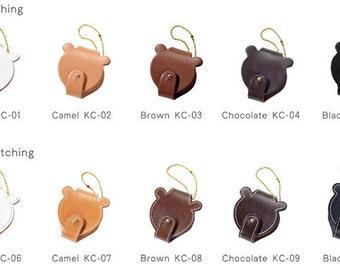Leather Bear Case-No Stitching KC-01
