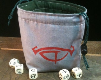 Eye of Sauron Dice Bag