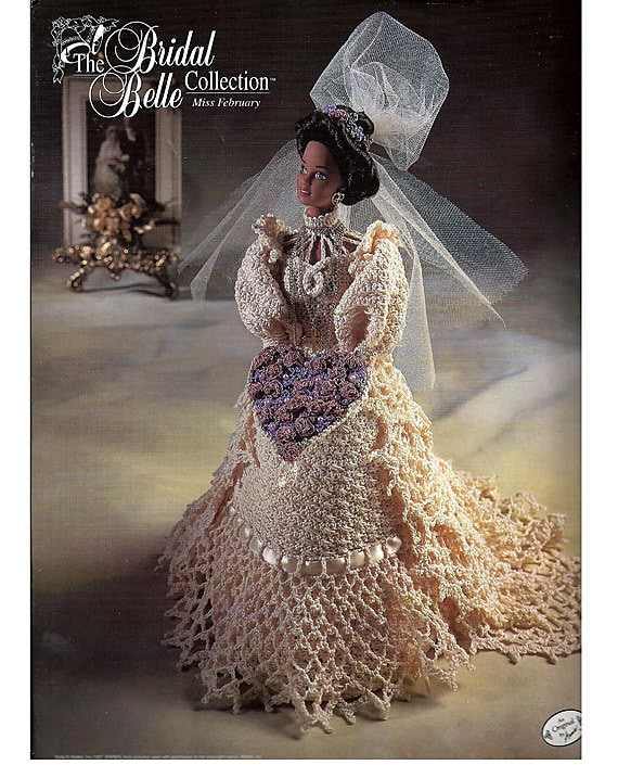 Dolly Bridal Collection: The Bridal Belle Collection Miss February Fashion Doll
