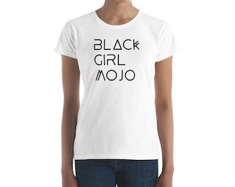 Black Girl Mojo Fashionable Summer Women's short sleeve t-shirt