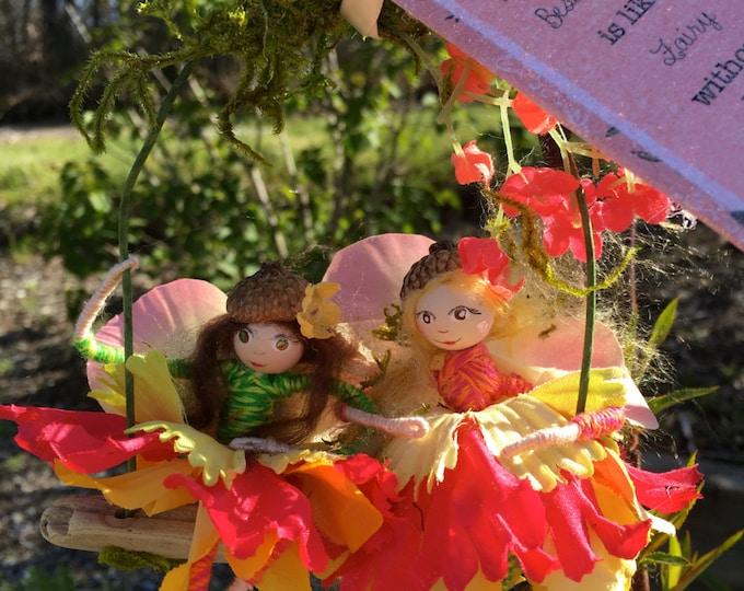 BFF Fairies on Swing (Best Fairy Friends)