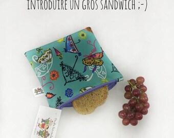 Le Bag Vert sac à sandwich