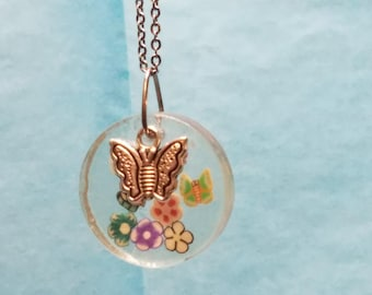 Butterflies necklace - Let's fly like the Butterflies