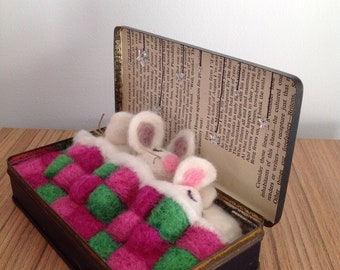 Needle felted mouse/mice