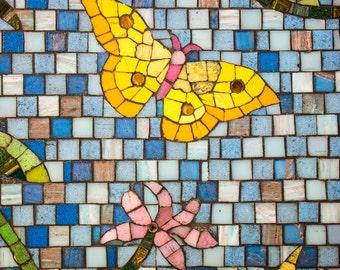 Disney - Butterfly Mosaic- Vertical Print 11x17