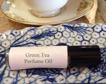 Green Tea Perfume Oil