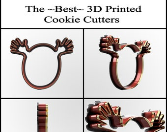Custom Cookie Cutter, Personalized Cookie Cutter, Clay Cutter, Fondant Cutter, Custom Cookie Cutter Design, 3D Print, Easter Cookie Cutter