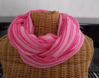 tube scarf, pink, spring, been