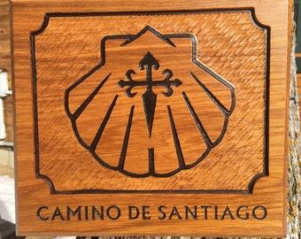 Camino de Santiago Plaque #209
