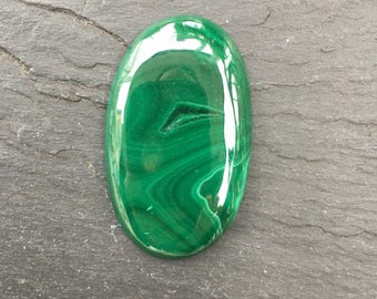Malachite Natural Stone Cabochon   Polished Loose Cabochons   Wire Wrapping   Jewelry Supplies