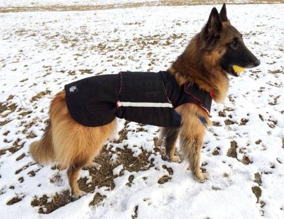 German Shepherd Extra Warm Winter Dog Coat Dog Jacket With