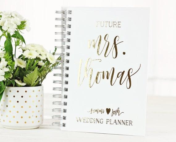 Future Mrs Wedding Planner Personalized Wedding Planner