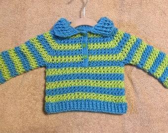 Baby Boys Striped Sweater