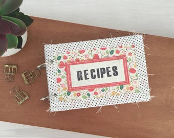 Recipe Junk Journal