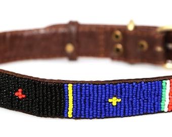 Padang Beaded Dog Collar