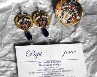 "Byzantium collection ""Theodora"" set"