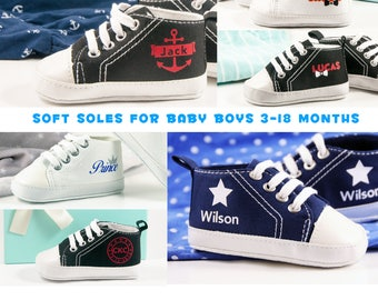 Baby Boy Shoes, Baby Gifts, Personalized Baby Girl Shoes, Infant Shoes, Personalized Baby Gift, Personalized baby shoes