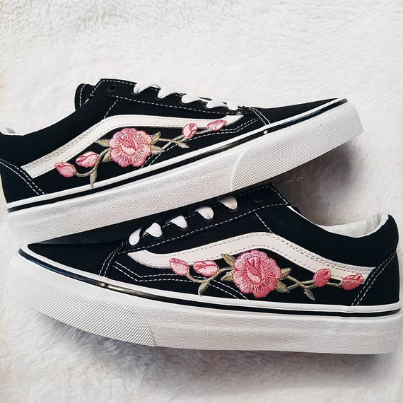 old skool vans damen rosen