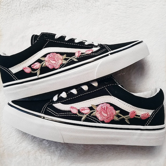 vans old skool rote rosen