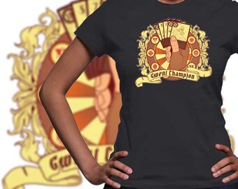 Gwent Champion / The Witcher t-shirt / Gaming Tee / Gwent Deck of cards