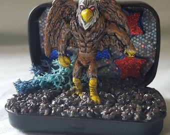 Eagle Creature Miniature Monster Diorama