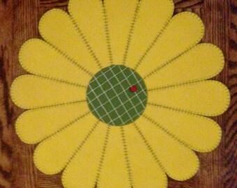 Wool Garden Tablemat