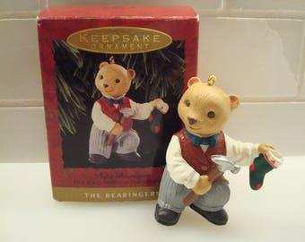 Vintage Papa Bearinger - Keepsake Ornament - Circa 1993 - Excellent Condition!!