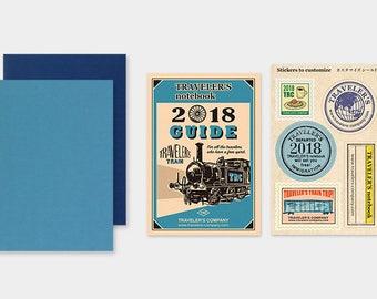 Traveler's Notebook 2018 Dated Refill Weekly Passport