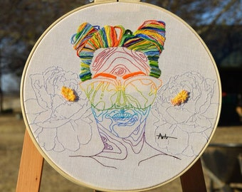 Plethora 14in Hand Embroidery