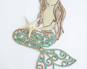 Elegant Articoli Popolari Per Mermaid Wall Decor