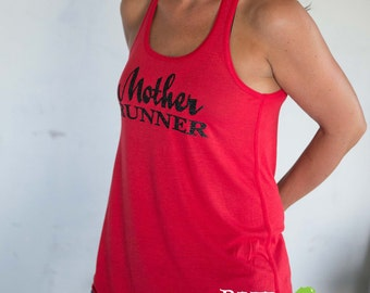 MOTHER RUNNER Flowy Tank, Sparkle Workout / Runner Racerback Tank