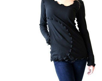 ONE POCKET long SLEEVE  more colors available| hand made| custom clothing| independent designer| unique women's clothes| sustainable clothes