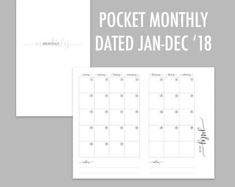 Pocket TN Monthly 2018 (Jan - Dec)