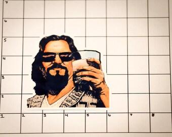 Big Lebowski Sticker / The Dude - Vinyl Sticker / Decal