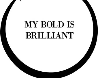My Bold is Beautiful