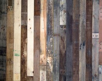Hodge Podge Wood - Vinyl Photography  Backdrop Photo Prop