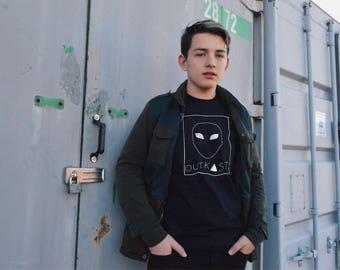 Grunge Alien T-Shirt