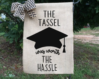Graduation flags, Graduation Party decorations, Funny Graduation Gift, Gifts for Grads, Class of 2018, High School Graduation